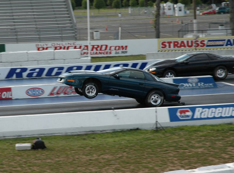 Rick Newmans 1994 Firebird with a 460 cubic inch LSX Engine and a Powerglide Transmission