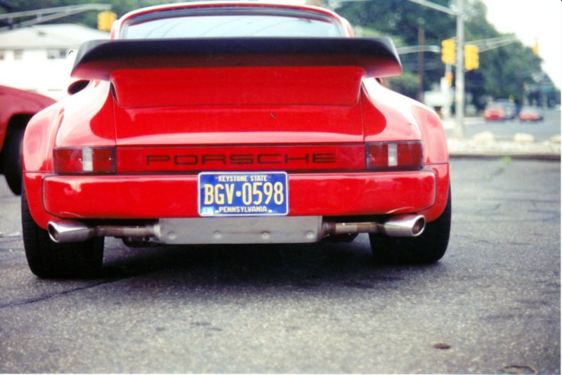 Exhaust on Ruff 911 with 933 engine
