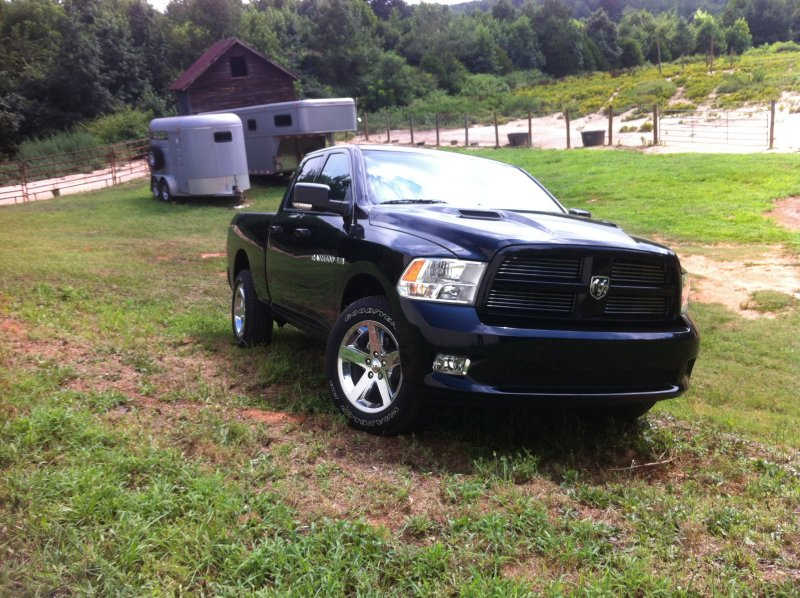 2012 Ram 1500 Sport with DODM14 Muffler Owned by Dan Dixon